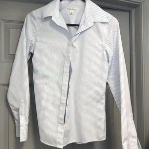 Blue/White Striped Shirt. MUST BUNDLE